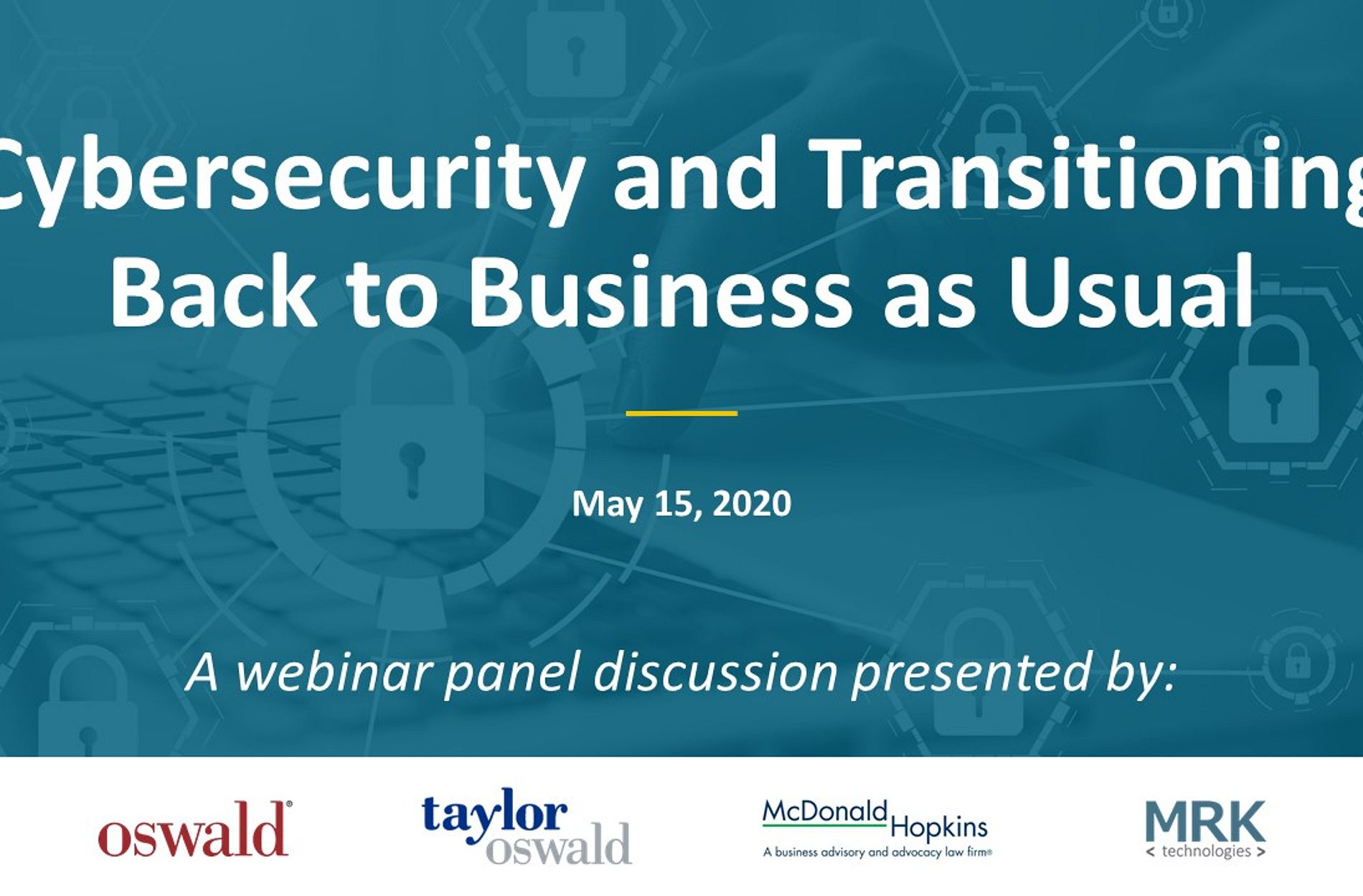 Cybersecurity Webinar May 15