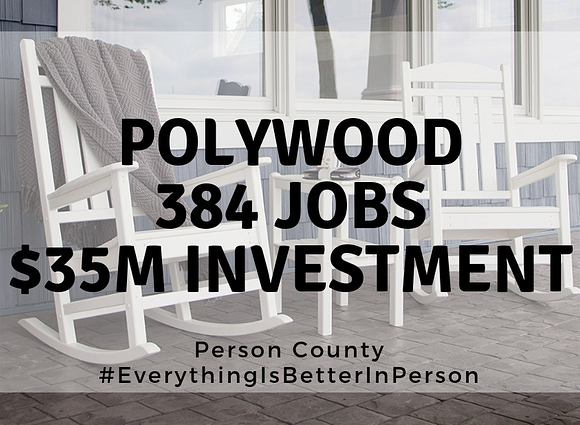Furniture Manufacturer to bring 384 jobs, $35.3M investment to Person County
